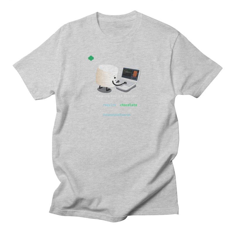 Chocolate Light Women's Unisex T-Shirt by marshmallowrun's Artist Shop