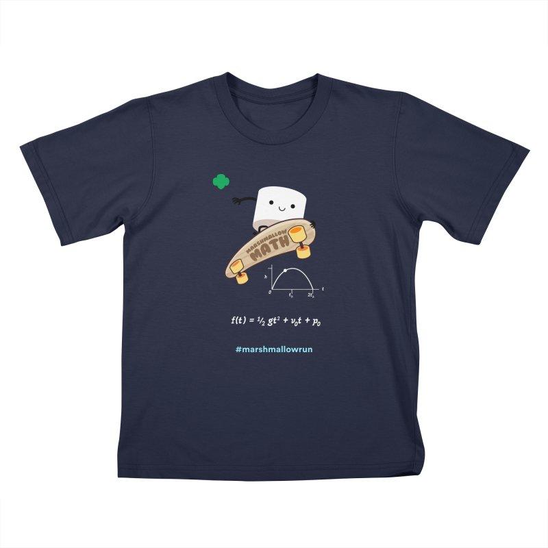 Marshmallow Math 3.0 Kids T-Shirt by marshmallowrun's Artist Shop
