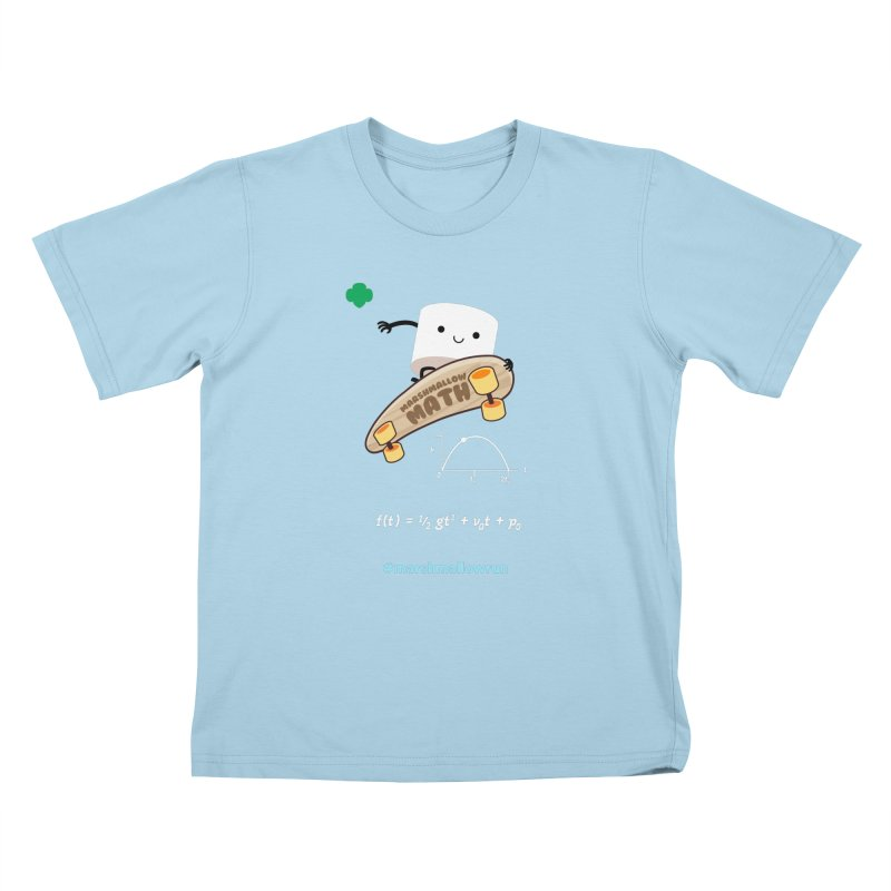 Marshmallow Math 3.0 Kids T-Shirt by marshmallowrun's Artist Shop