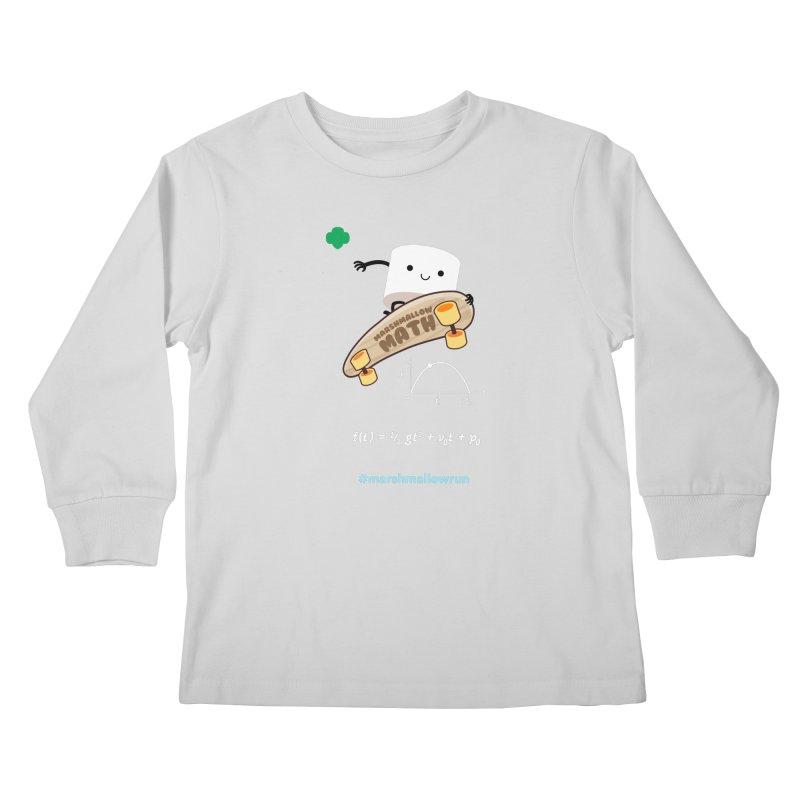 Marshmallow Math 3.0 Kids Longsleeve T-Shirt by marshmallowrun's Artist Shop