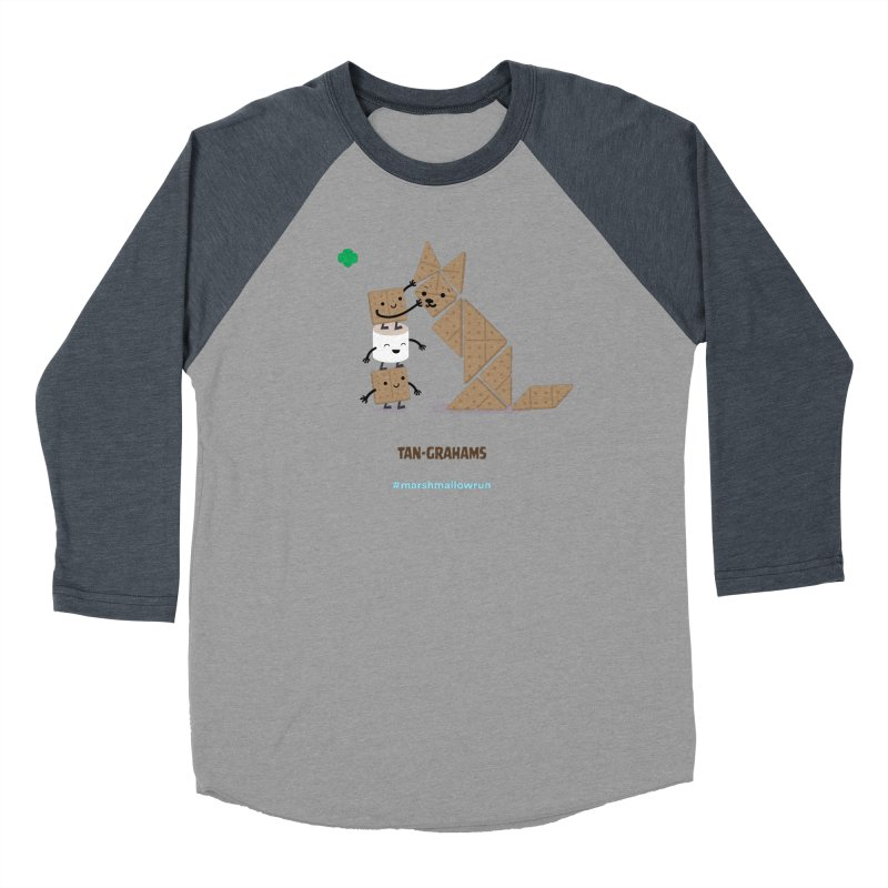 Graham Women's Baseball Triblend Longsleeve T-Shirt by marshmallowrun's Artist Shop