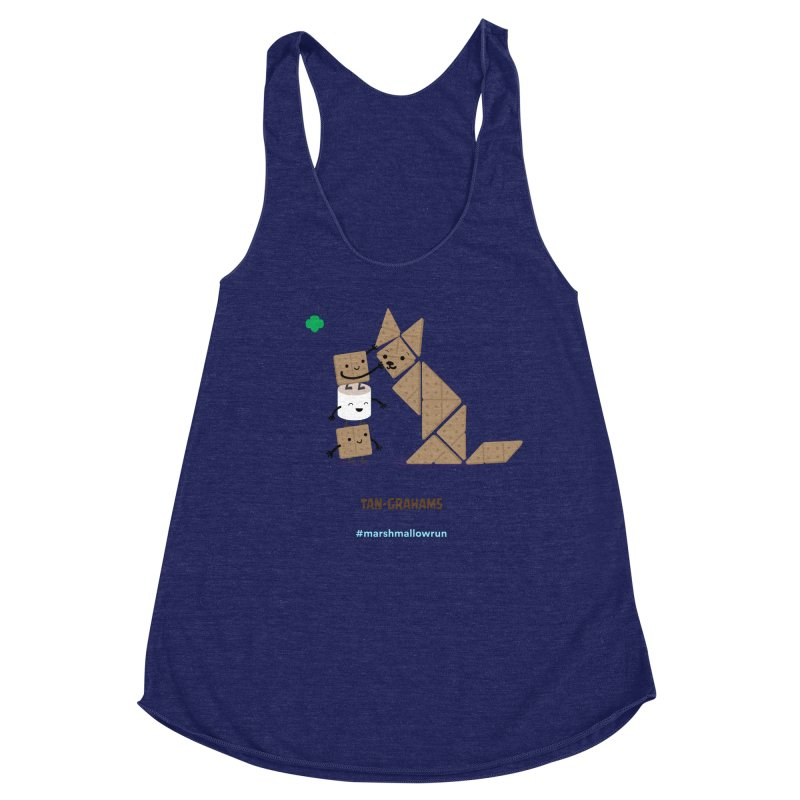Graham Women's Racerback Triblend Tank by marshmallowrun's Artist Shop