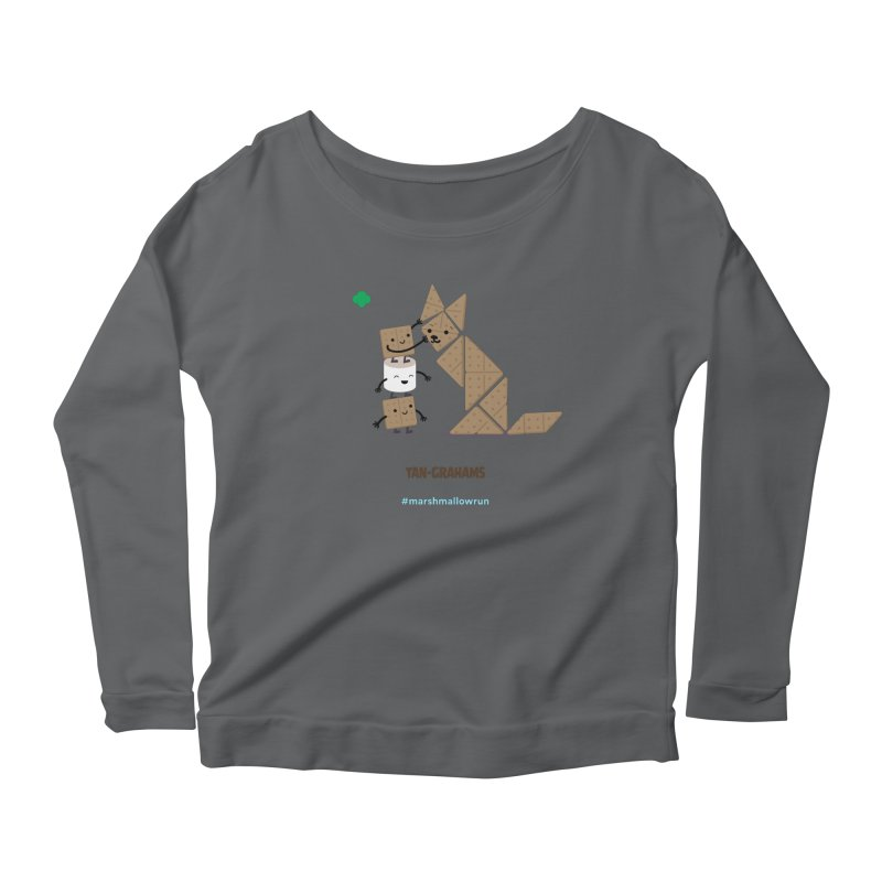 Graham Women's Scoop Neck Longsleeve T-Shirt by marshmallowrun's Artist Shop