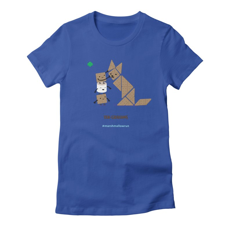 Graham Women's Fitted T-Shirt by marshmallowrun's Artist Shop