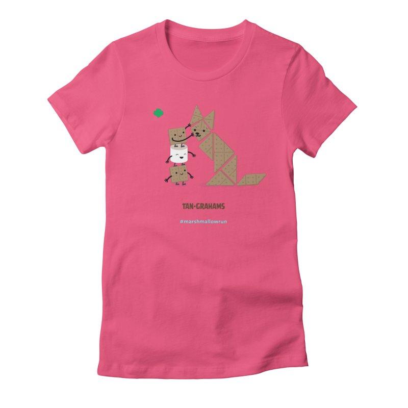Graham Women's Fitted T-Shirt by marshmallowrun's Artist Shop