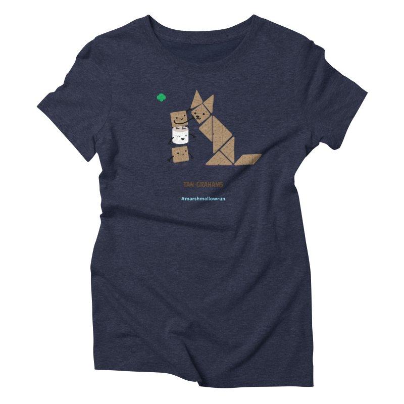 Graham Women's Triblend T-Shirt by marshmallowrun's Artist Shop