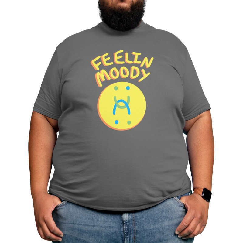 Feelin Moody Men's T-Shirt by Mars Homeworks
