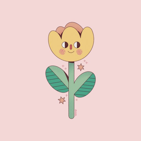 Design for Smiling Flower