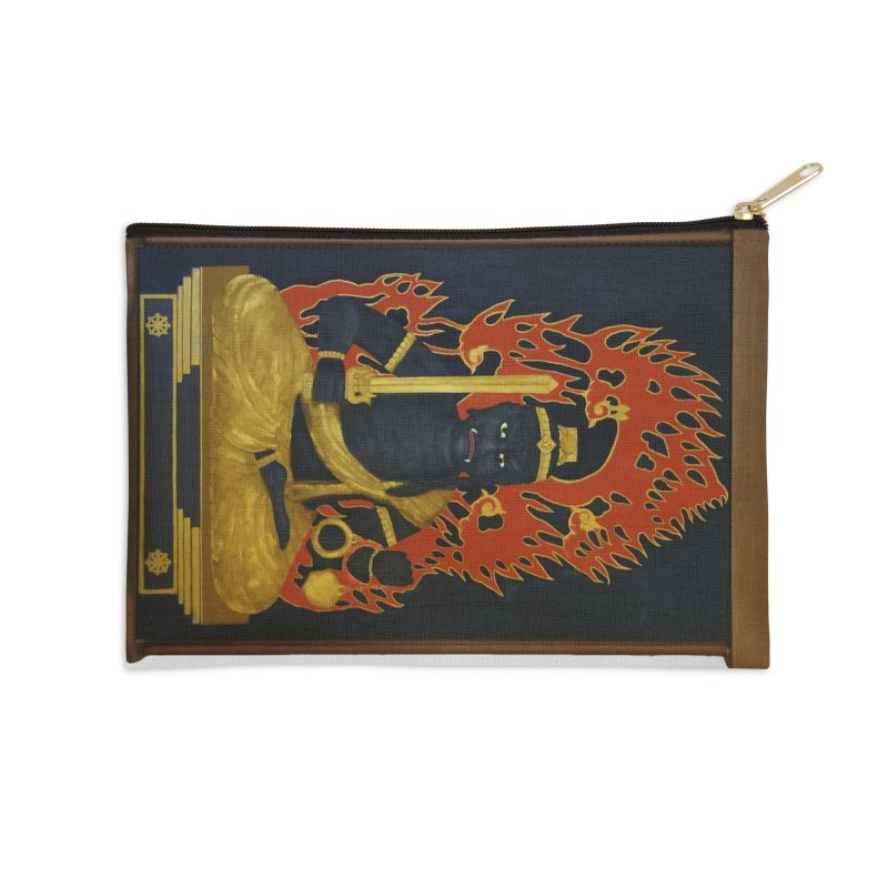 Fudo Myoo Accessories Zip Pouch by The Martial Arts Academy's Store