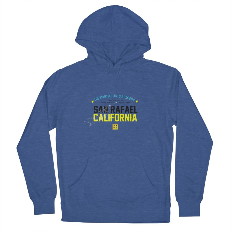 Old School, Black Type Men's Pullover Hoody by The Martial Arts Academy's Store