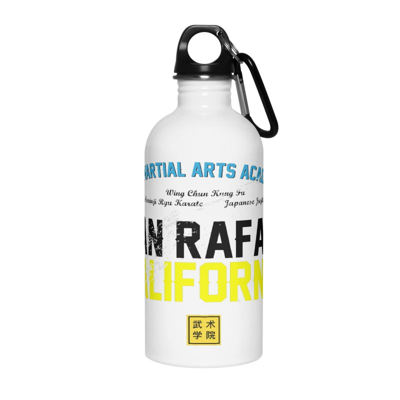 Old School, Black Type Accessories Water Bottle by The Martial Arts Academy's Store