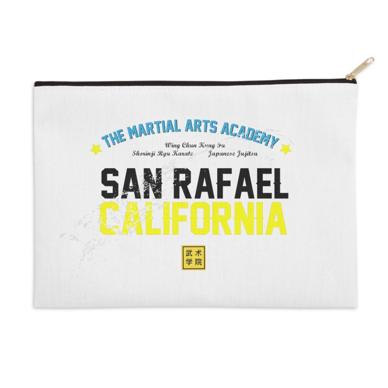 Old School, Black Type Accessories Zip Pouch by The Martial Arts Academy's Store