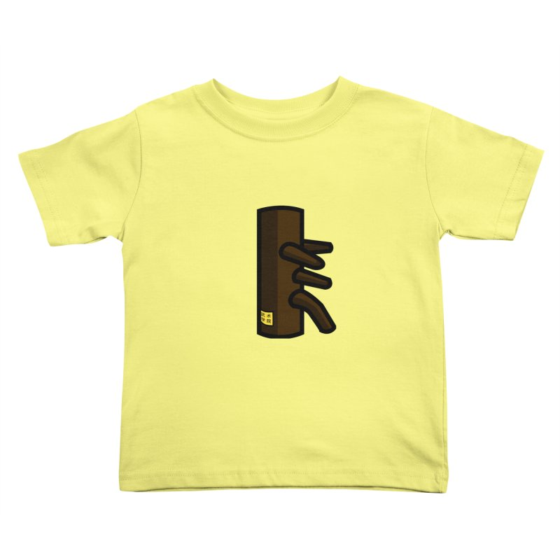 Dummy Kids Toddler T-Shirt by The Martial Arts Academy's Store