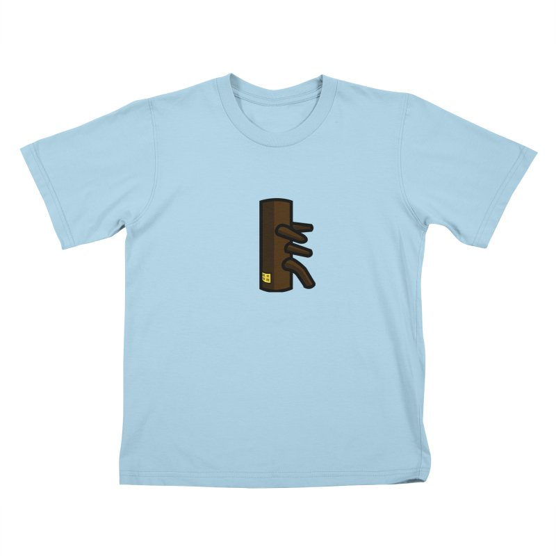 Dummy in Kids T-Shirt Powder Blue by The Martial Arts Academy's Store