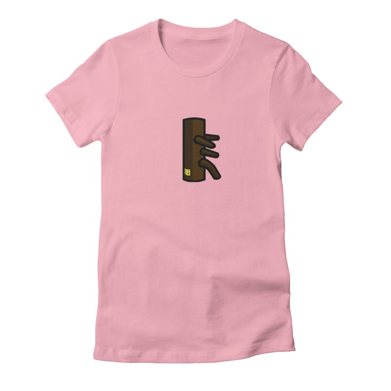 Dummy in Women's Fitted T-Shirt Light Pink by The Martial Arts Academy's Store