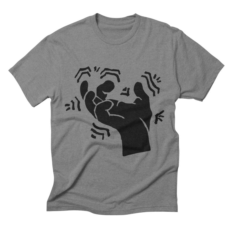 Savage Hand Black Men's T-Shirt by The Martial Arts Academy's Store