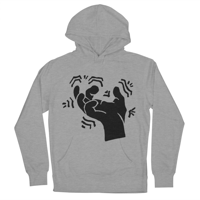 Savage Hand Black Men's French Terry Pullover Hoody by The Martial Arts Academy's Store