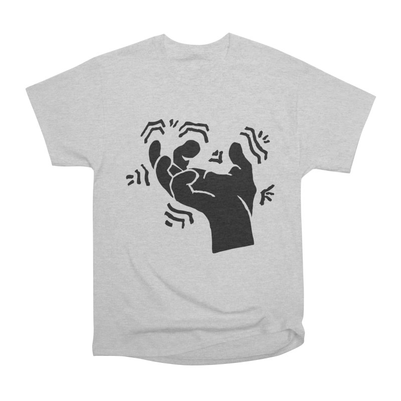 Savage Hand Black Women's Heavyweight Unisex T-Shirt by The Martial Arts Academy's Store