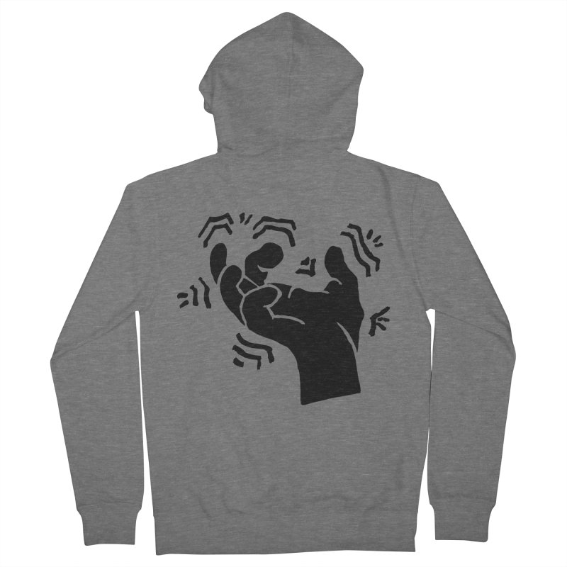 Savage Hand Black Men's Zip-Up Hoody by The Martial Arts Academy's Store