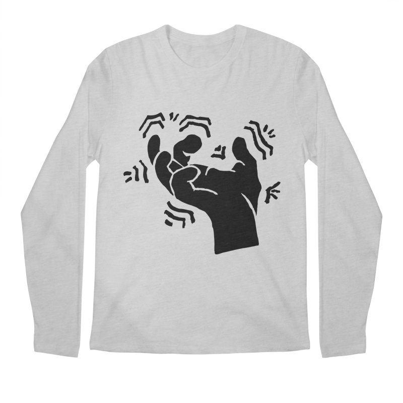 Savage Hand Black Men's Longsleeve T-Shirt by The Martial Arts Academy's Store