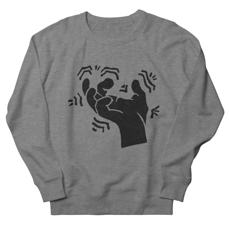 Savage Hand Black Men's Sweatshirt by The Martial Arts Academy's Store