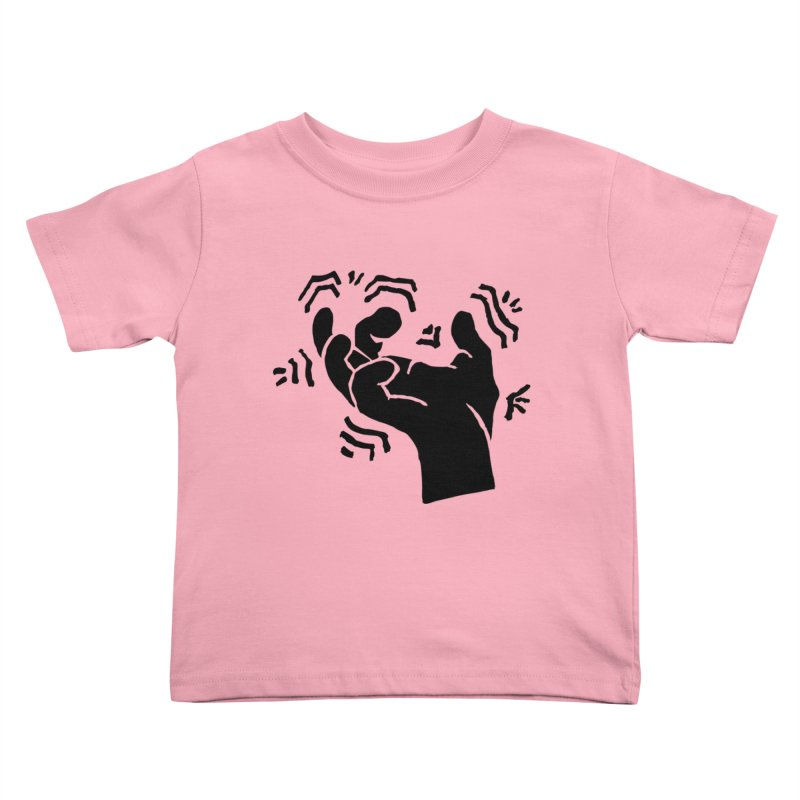 Savage Hand Black Kids Toddler T-Shirt by The Martial Arts Academy's Store