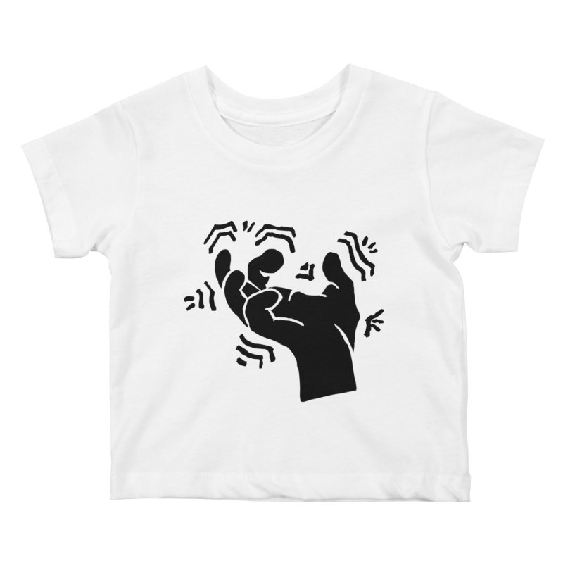 Savage Hand Black Kids Baby T-Shirt by The Martial Arts Academy's Store