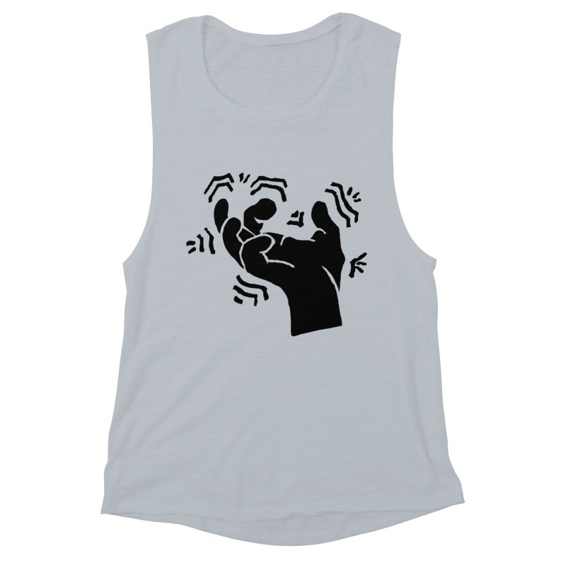 Savage Hand Black Women's Tank by The Martial Arts Academy's Store