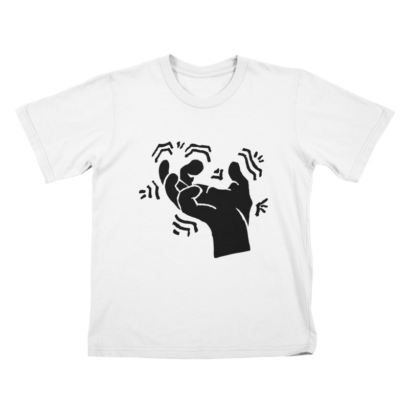 Savage Hand Black Kids T-Shirt by The Martial Arts Academy's Store