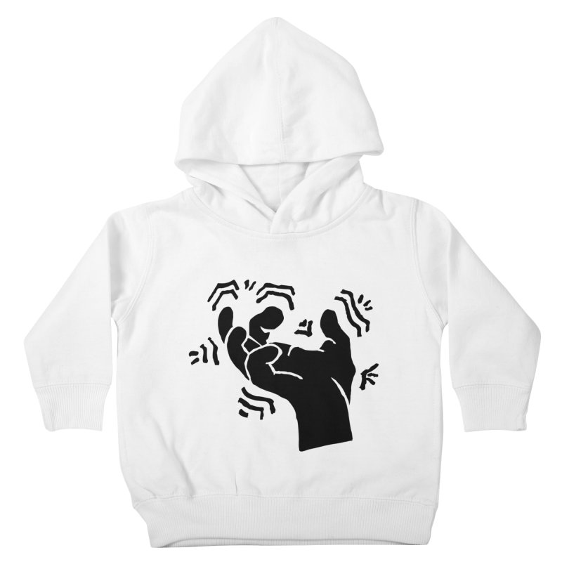 Savage Hand Black Kids Toddler Pullover Hoody by The Martial Arts Academy's Store