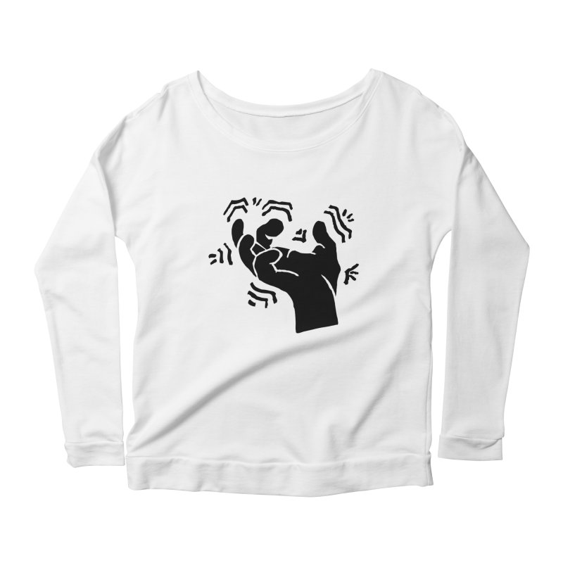 Savage Hand Black Women's Longsleeve T-Shirt by The Martial Arts Academy's Store