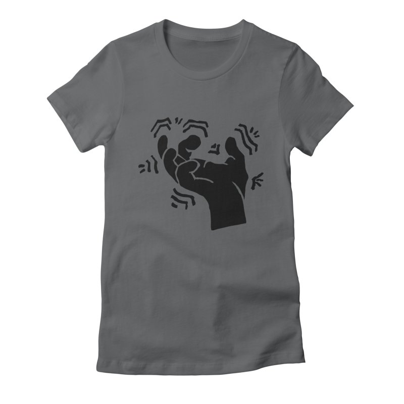 Savage Hand Black Women's T-Shirt by The Martial Arts Academy's Store