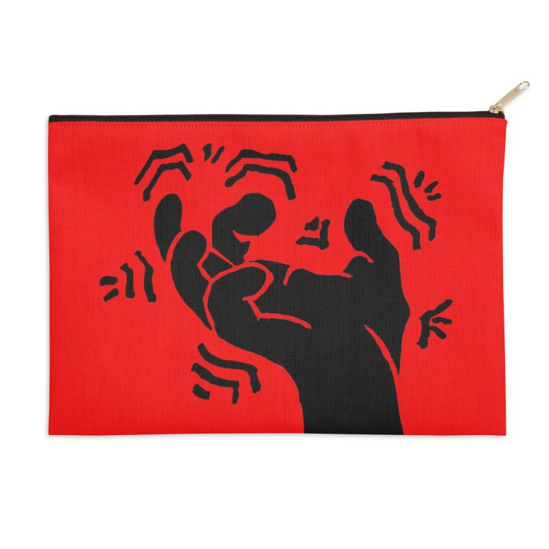 Savage Hand Black Accessories Zip Pouch by The Martial Arts Academy's Store