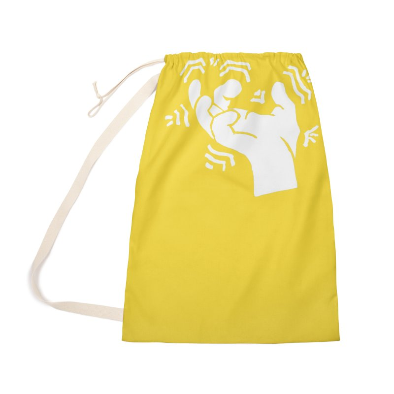 Savage Hand White Accessories Bag by The Martial Arts Academy's Store