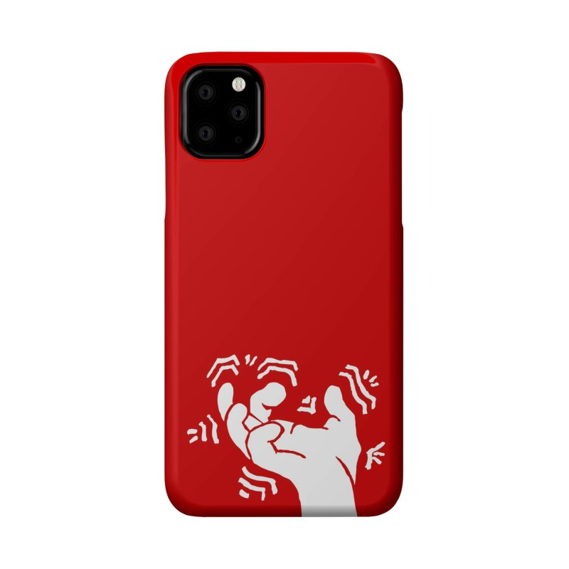 Savage Hand White Accessories Phone Case by The Martial Arts Academy's Store
