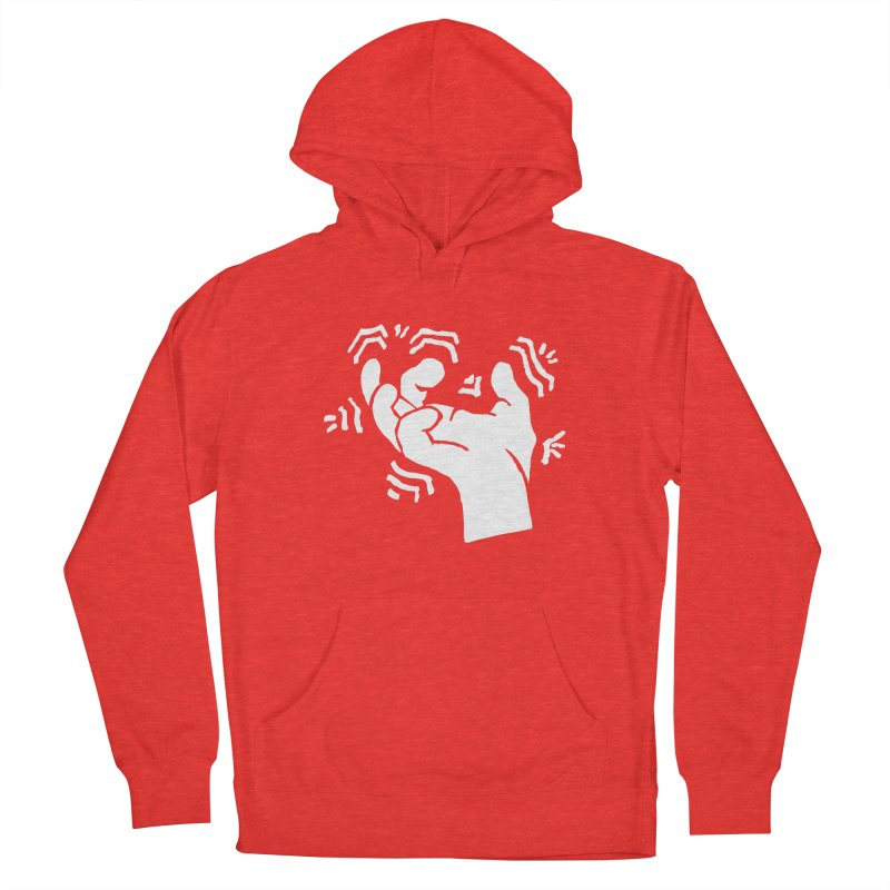 Savage Hand White Women's Pullover Hoody by The Martial Arts Academy's Store