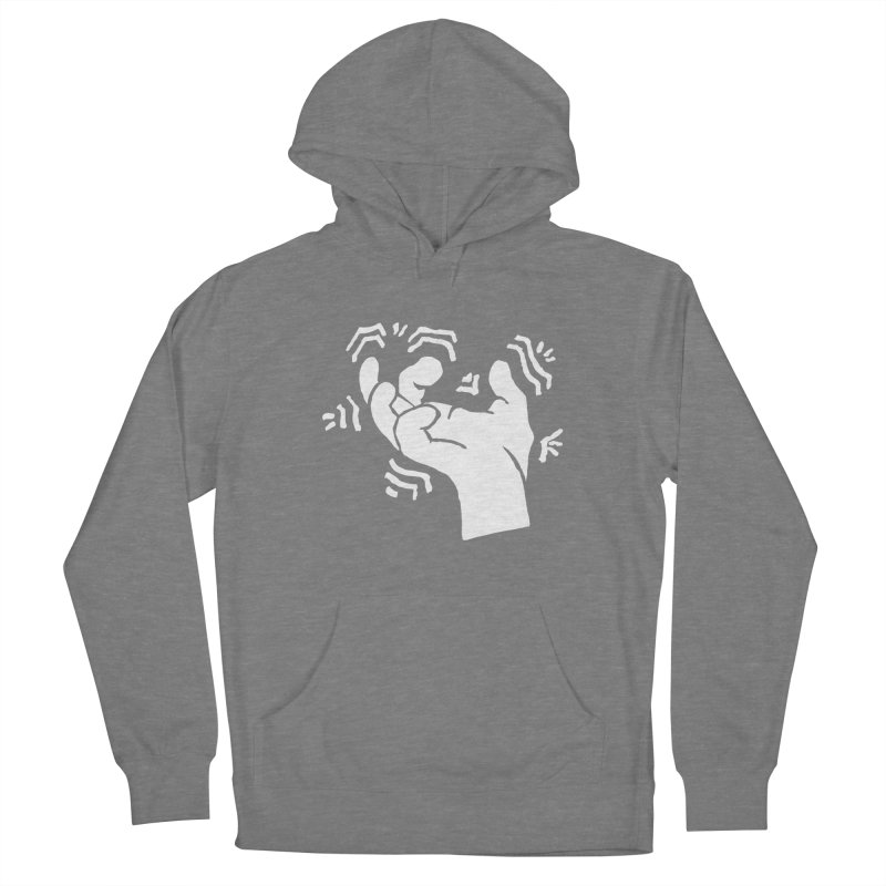 Savage Hand White Men's Pullover Hoody by The Martial Arts Academy's Store