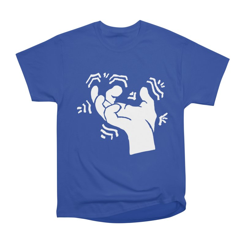 Savage Hand White Women's Heavyweight Unisex T-Shirt by The Martial Arts Academy's Store