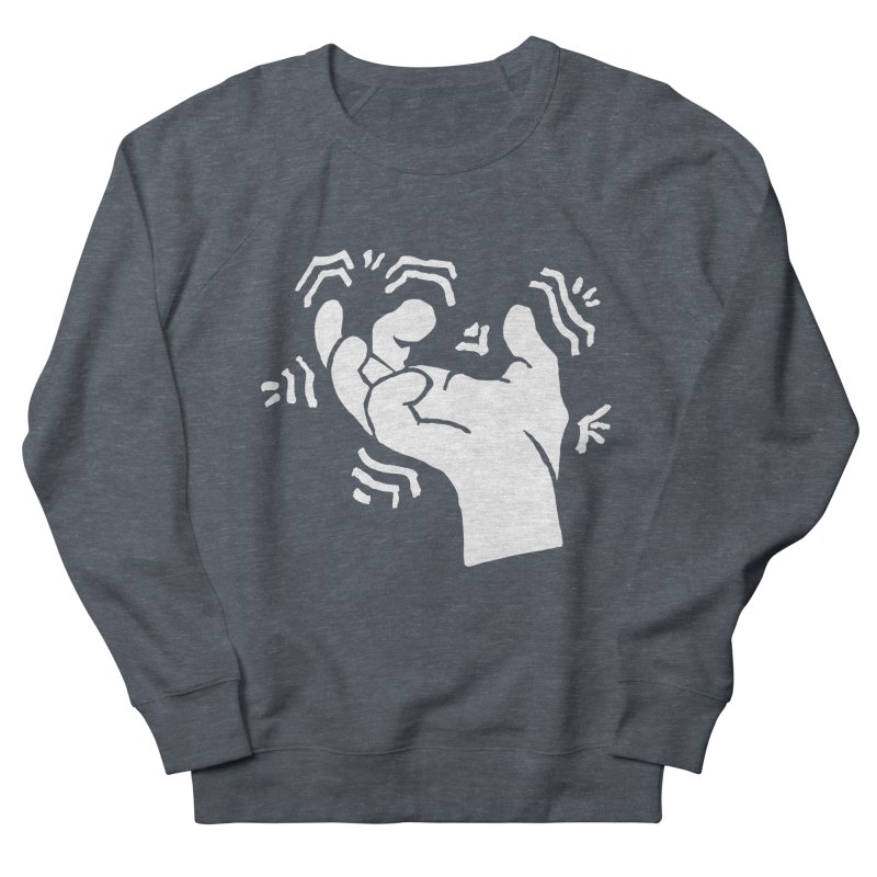 Savage Hand White Women's Sweatshirt by The Martial Arts Academy's Store