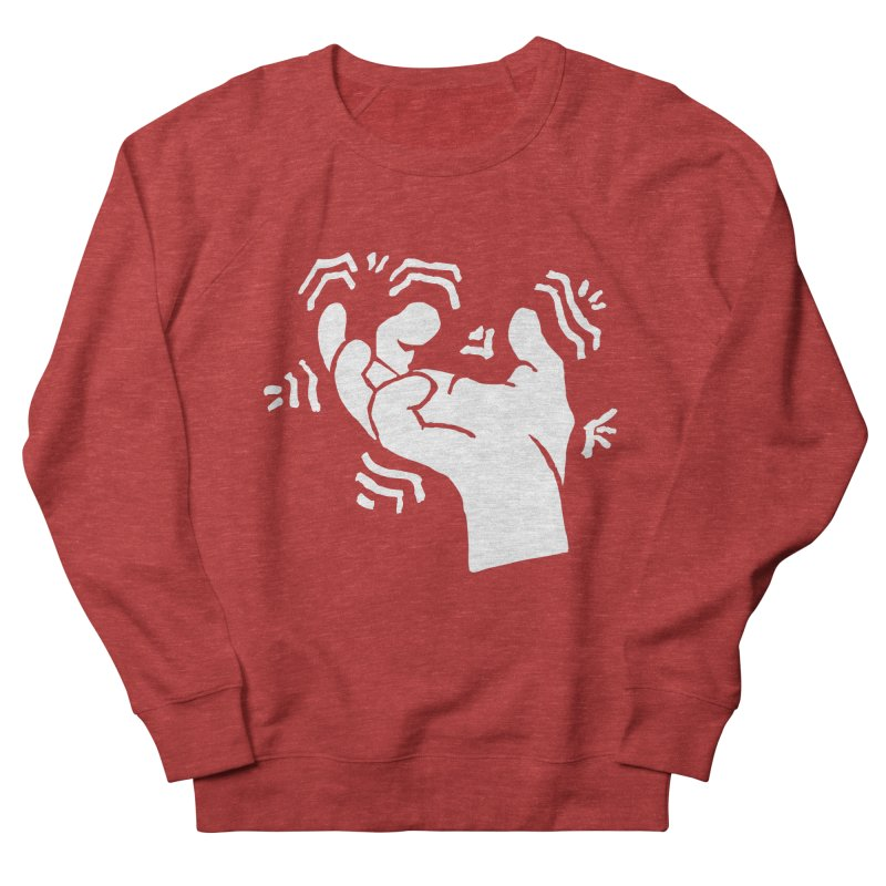 Savage Hand White Women's French Terry Sweatshirt by The Martial Arts Academy's Store