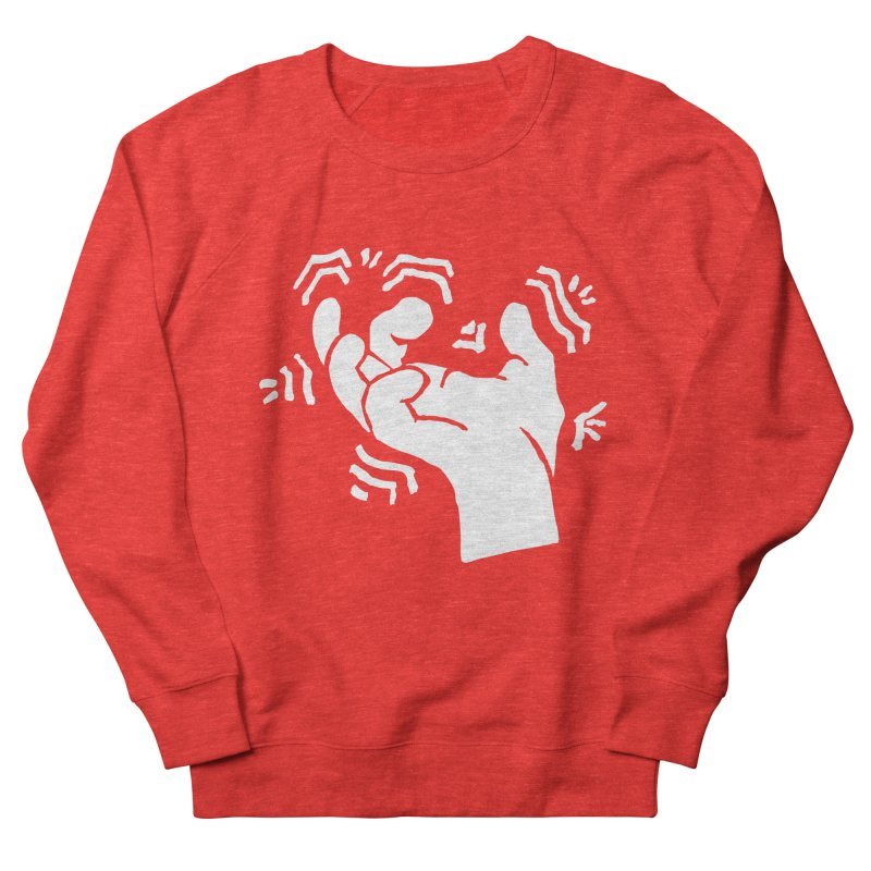 Savage Hand White Men's Sweatshirt by The Martial Arts Academy's Store