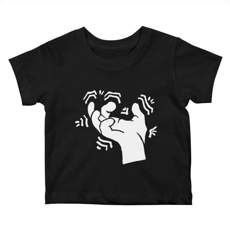 Savage Hand White Kids Baby T-Shirt by The Martial Arts Academy's Store