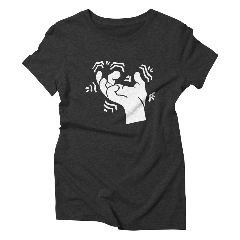 Savage Hand White Women's T-Shirt by The Martial Arts Academy's Store