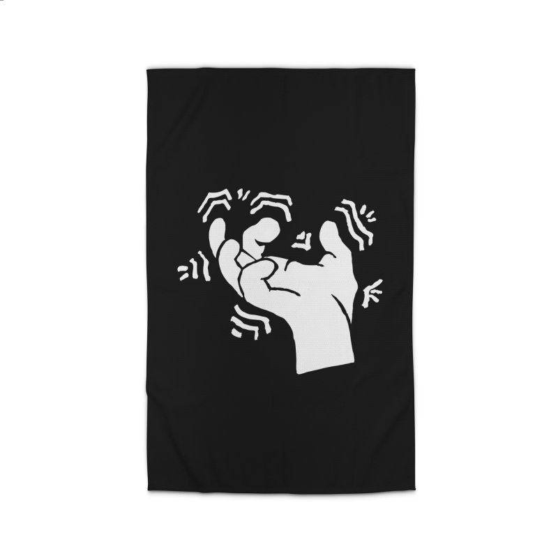 Savage Hand White Home Rug by The Martial Arts Academy's Store