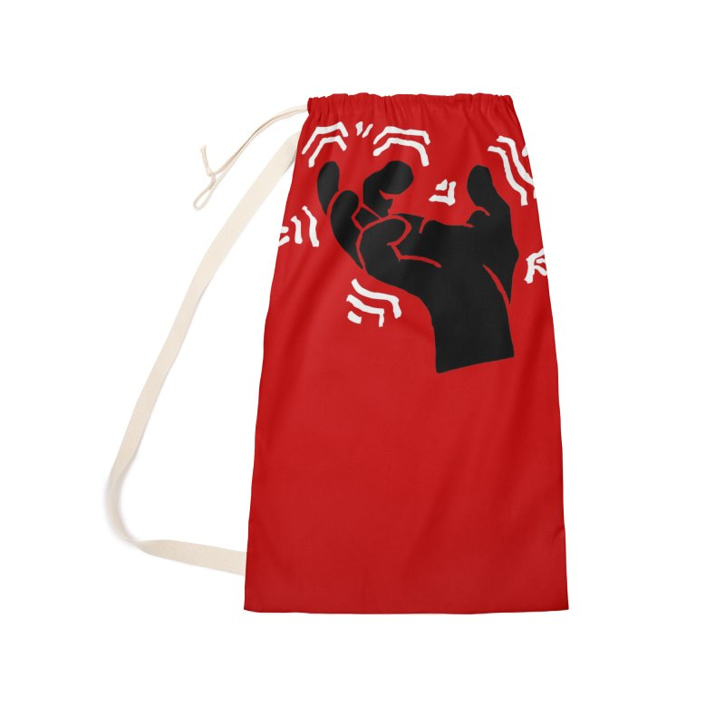 Savage Hand B/W Accessories Bag by The Martial Arts Academy's Store