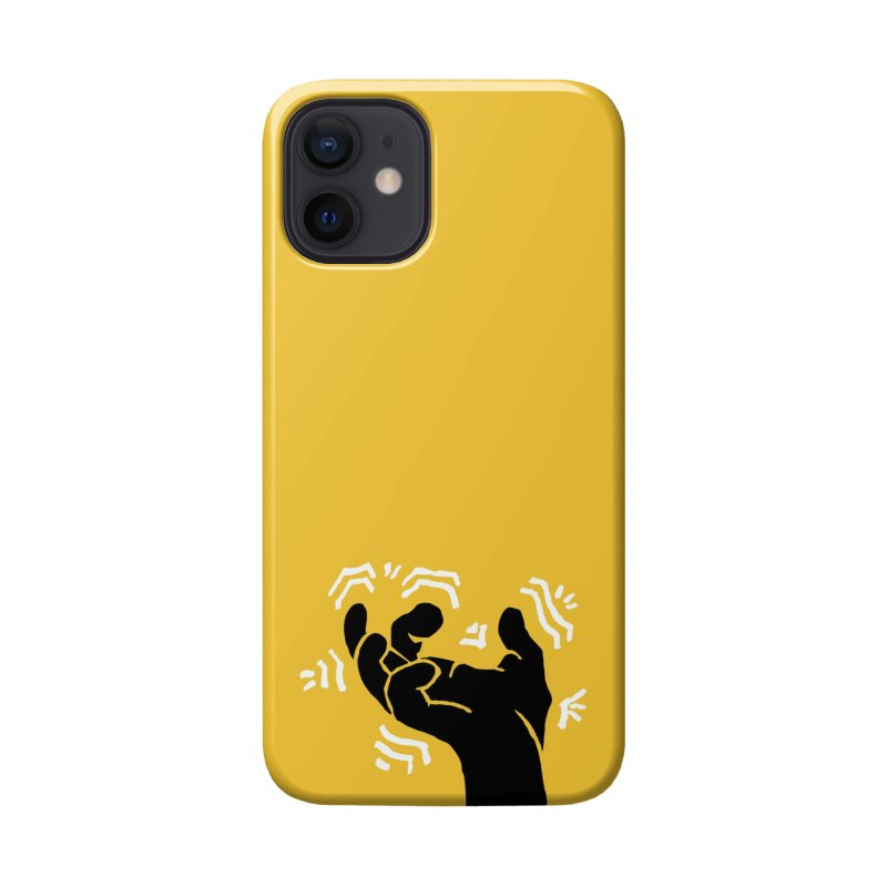 Savage Hand B/W Accessories Phone Case by The Martial Arts Academy's Store