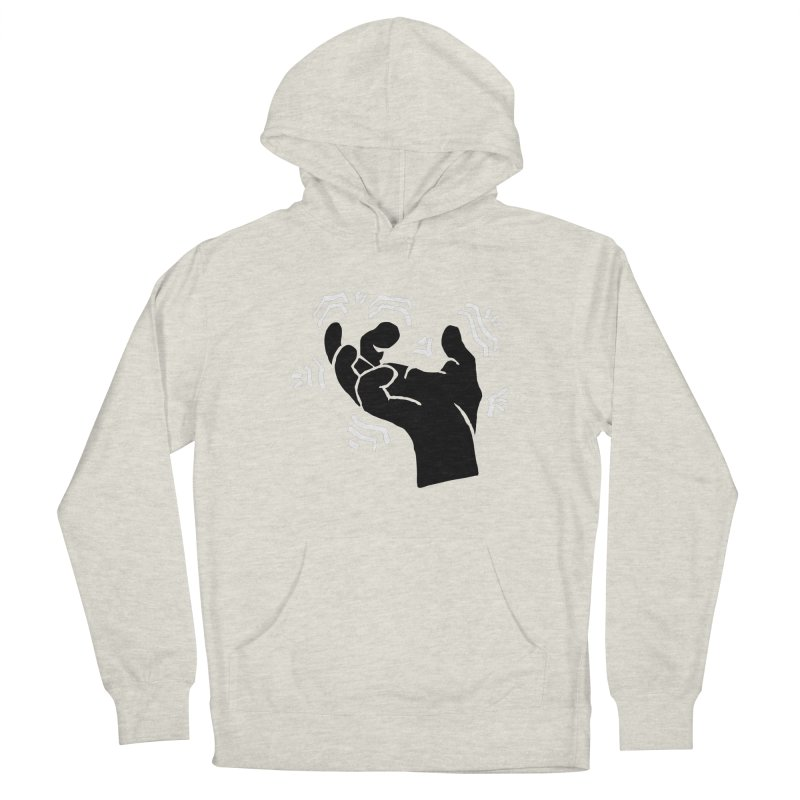 Savage Hand B/W Men's Pullover Hoody by The Martial Arts Academy's Store