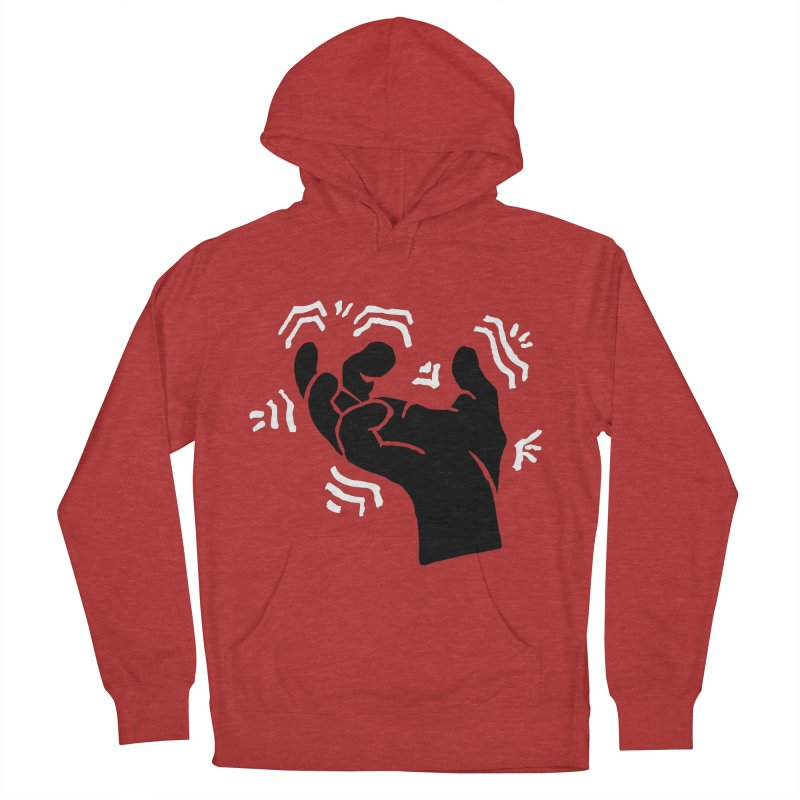 Savage Hand B/W Women's French Terry Pullover Hoody by The Martial Arts Academy's Store