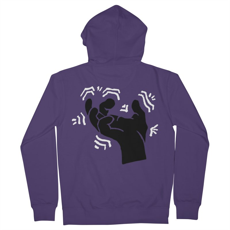 Savage Hand B/W Women's Zip-Up Hoody by The Martial Arts Academy's Store
