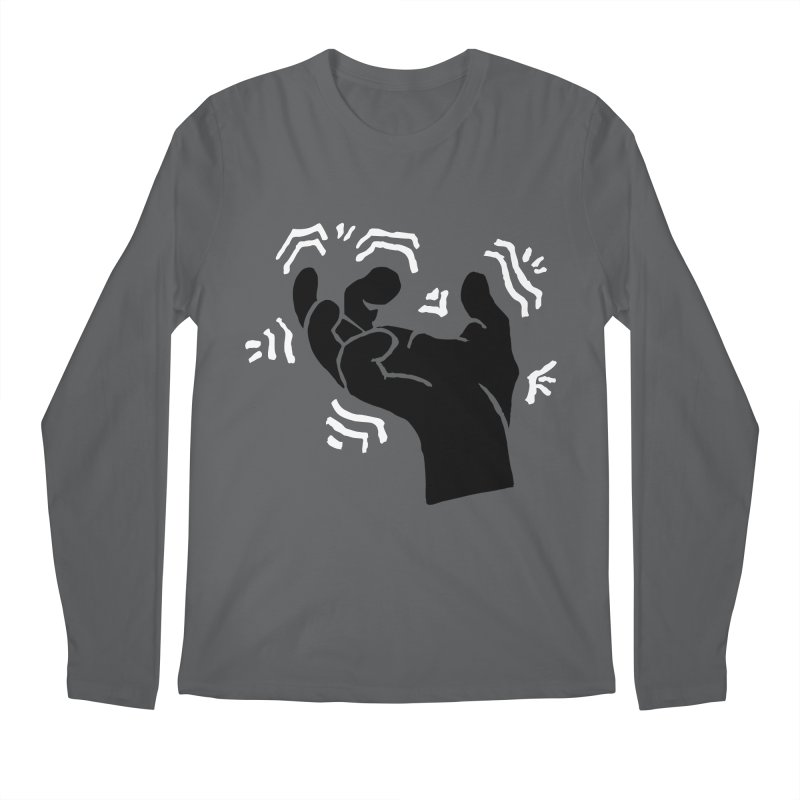 Savage Hand B/W Men's Longsleeve T-Shirt by The Martial Arts Academy's Store